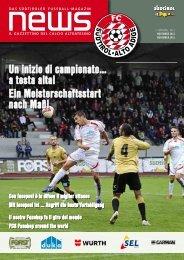 Novembre 2012 - FC Südtirol - Alto Adige