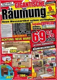 25%gespart - Sonneberger Möbelzentrum