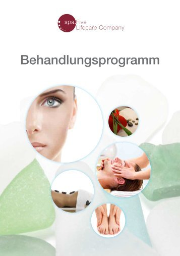 Download Behandlungsprogramm - spa.Five - Lifecare Company