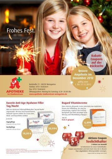 Frohes Fest. - apotheke-stadtzentrum-weingarten.de