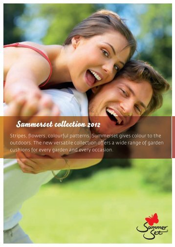 Summerset collection 2012 - Tuinkussen.com