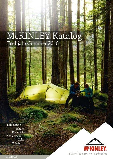 McKinley Luftmatratze Nylon Pump Trekking Farbe: orange//schwarz