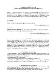 Öffentlich-Rechtlicher-Vertrag - TiBaRG