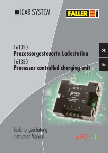 Prozessorgesteuerte Ladestation Processor controlled charging unit
