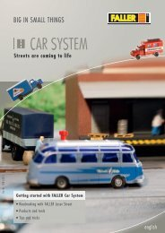 Car System Info English - Faller