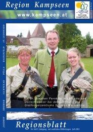 Regionsblatt Nr. 56 Juli 2011 - Region Kampseen