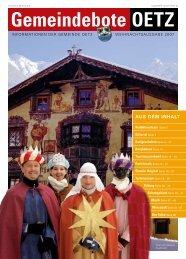 (8,73 MB) - .PDF - Gemeinde Oetz - Land Tirol