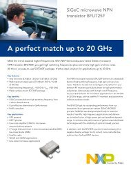 A perfect match up to 20 GHz - NXP.com