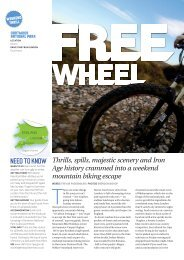 NEED TO KNOW - Devon Mountain Bike Holidays