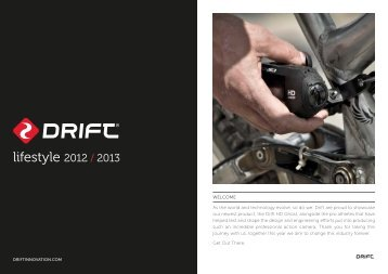lifestyle 2012 / 2013 - Drift Innovation