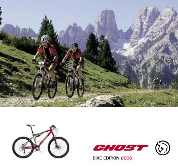 Katalog 2006 - Ghost Bikes
