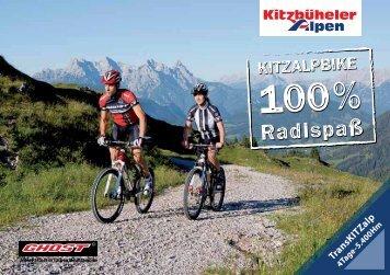 Download: Broschüre KitzAlpBike 100% Radlspaß - Brixental