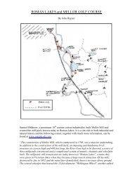 Roman Lakes and Mellor Golf Course (PDF file - Manchester Birding