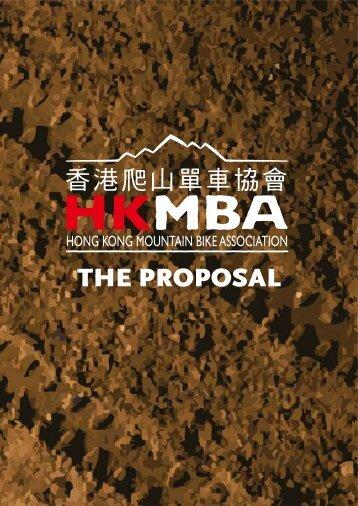 the proposal - the Hong Kong Mountain Bike Association