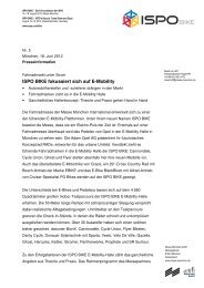 05d_ISPO BIKE fokussiert sich auf E-Mobility