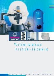 SCHWIMMBAD FILTER-TECHNIK - MTH-Moderne Wassertechnik AG