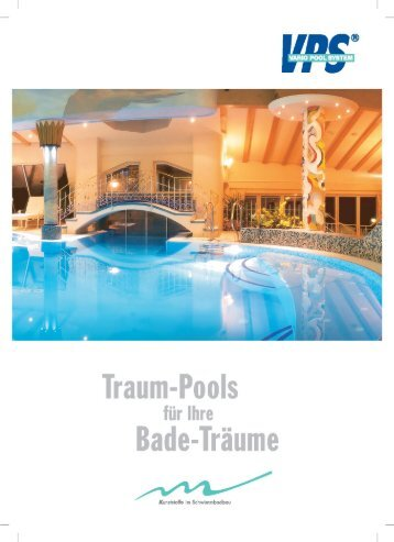 VPS Vario Pool System Katalog ab 2009 - Wellness & Fun ...