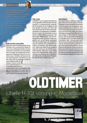 Datenblatt Segelflug - pp-rc Modellbau