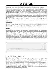 EVO XL - Paul Schneider Modellbau