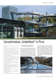 """Ganzjahresbad """"Geibeltbad"""" in Pirna - Kannewischer"""