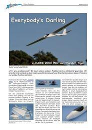 e-HAWK 2000 PRO von Thunder Tiger - Airmix