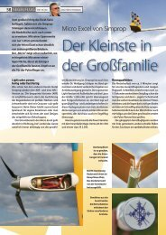 Datenblatt Segelflug - Simprop