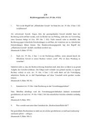 § 20 Rechtsweggarantie (Art. 19 Abs. 4 GG) 1. Wie ist der Begriff der ...