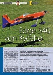 Datenblatt Motorflug - Kyosho