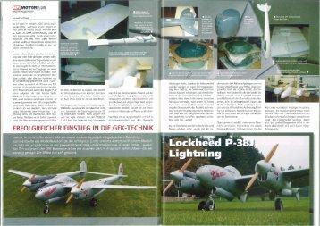 Baubericht der P38 Lightning von Konrad Hofmann