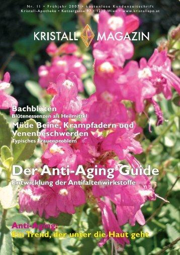 Der Anti-Aging Guide - Kristall-Apotheke