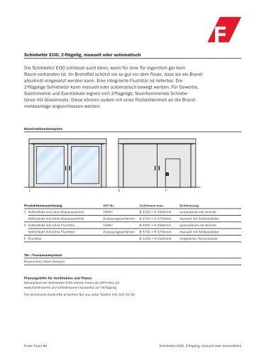 richtlinie ber automatische schiebet ren in rettungswegen. Black Bedroom Furniture Sets. Home Design Ideas