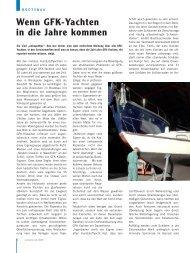 Wenn GFK-Yachten in die Jahre kommen - Deutscher Boots- und ...