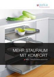Mehr StaurauM Mit KoMfort - Peka
