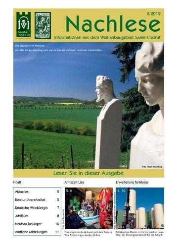 in vino unitas - Saale-Unstrut-Tourismus e.V.