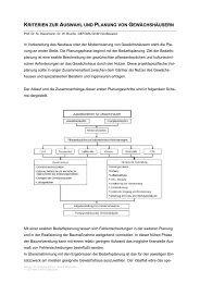 kriterien zur auswahl und planung von ... - GEFOMA GmbH