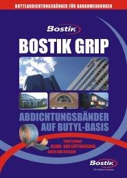 Flyer Butylbänder 0710 - Bostik