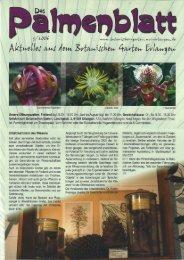 3/2006 - Botanischer Garten Erlangen