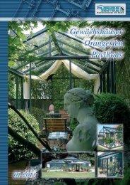 Gewächshäuser | Pavillons | Orangierien - Prospekt und Preise