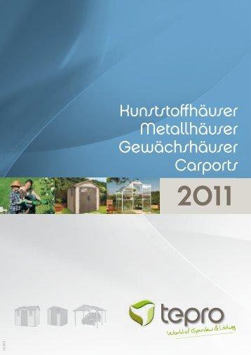 Kunststoffhäuser Metallhäuser Gewächshäuser ... - ABL Distributions