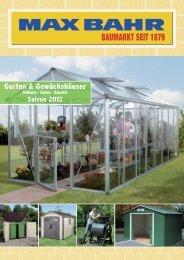 Garten & Gewächshäuser - Max Bahr Startseite