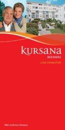 pdf Hausflyer Residenz Linz-Donautor - Kursana