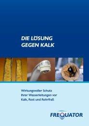 Informationen Hauskalkschutz mit dem Frequator - misterwater.eu