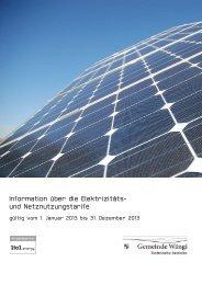 Strompreise 2013 [PDF, 220 KB]