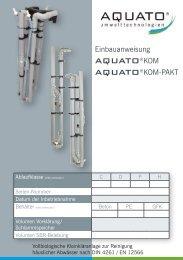 AQUATO®KOM - AQUATO Umwelttechnologien GmbH Herford