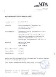 im MPA - Reuss-Seifert GmbH