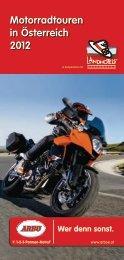 Motorradtouren in Österreich 2012 - Arbö