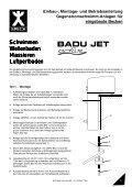 badu jet activ.p65 - Schwimmbadtechnik-dietz - Page 3
