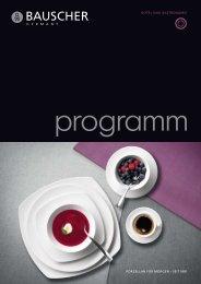 Bauscher Programm - Gastroline