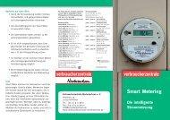 Die intelligente Strommessung - Verbraucherzentrale Niedersachsen