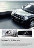 Preisliste Hyundai Tucson, 5/2009 - mobilverzeichnis.de - Seite 2